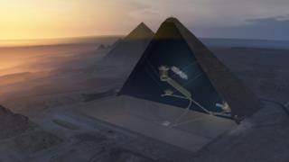 Veduta delle Piramide di Cheope