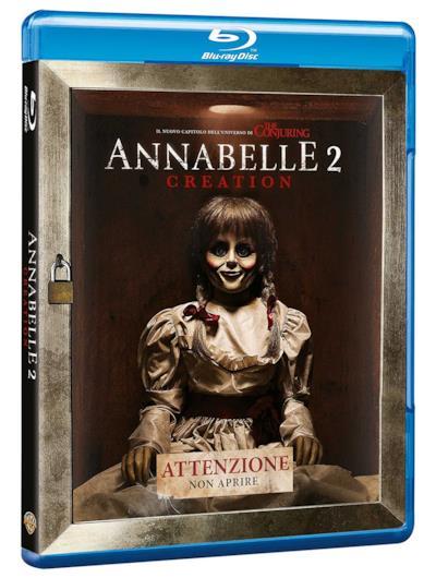 La copertina di Annabelle 2: Creation