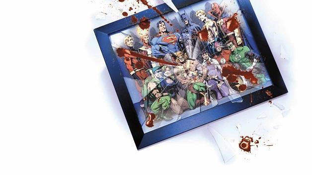 Una tavola del fumetto Crisi di Identità.