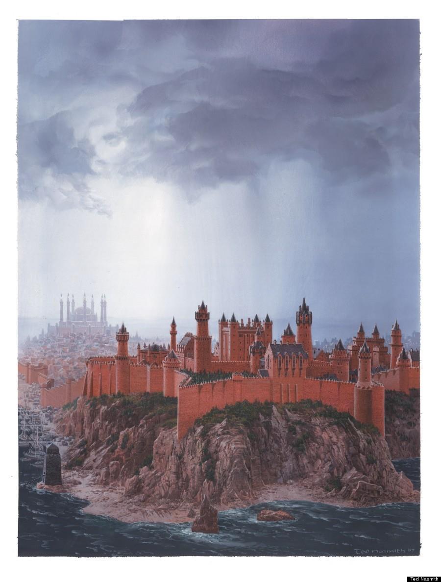 Illustrazione della Fortezza Rossa