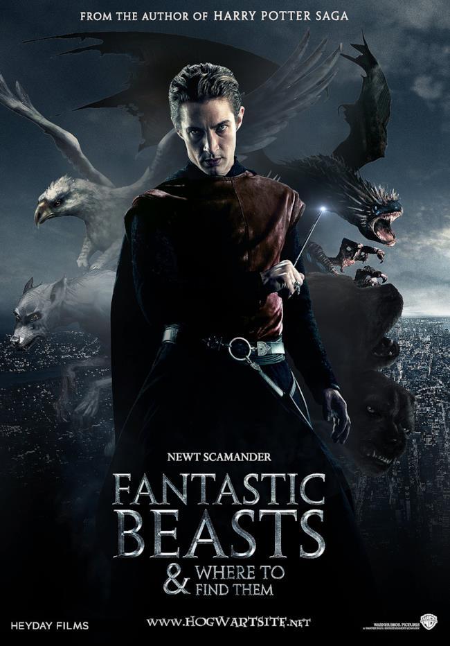 Locandina del nuovo film della Rowling