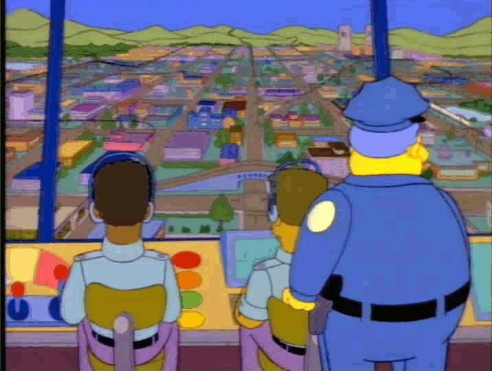 Monorotaia nei Simpson