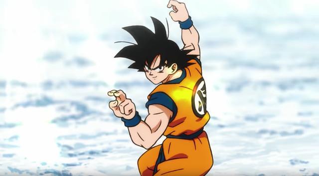 Goku nel teaser trailer del film di Dragon Ball Super