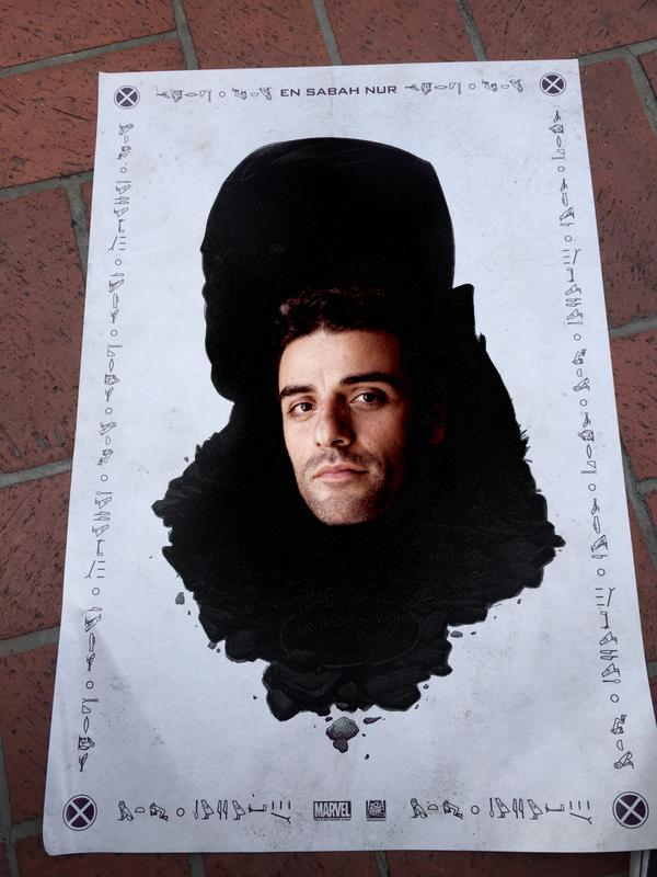 Poster di Apocalisse con Oscar Isaac