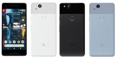 La linea di smartphone Pixel 2