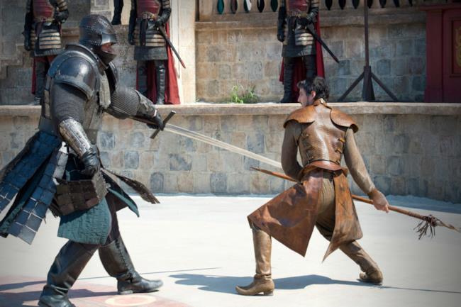 La Montagna che Cavalca contro Oberyn Martell
