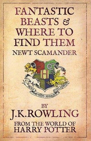 Gli animali magici: dove trovarli, copertina del libro