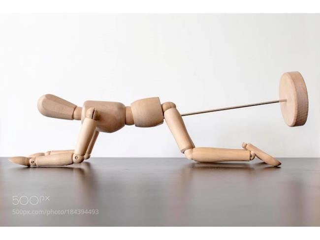 Una marionetta