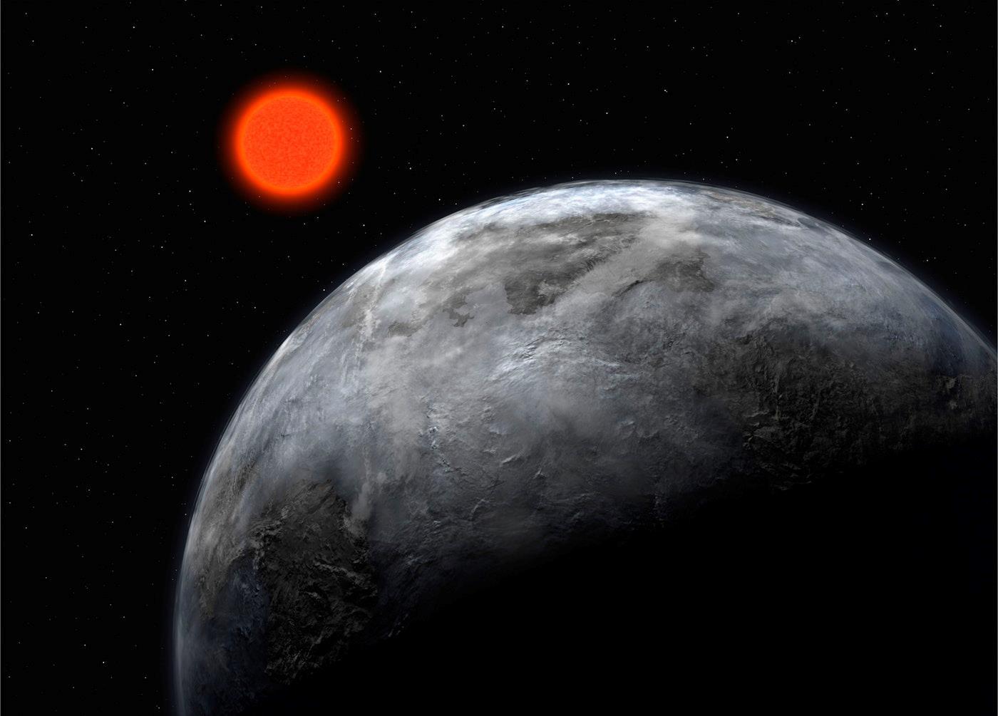 Ecco come dovrebbe apparire il pianeta e la stella