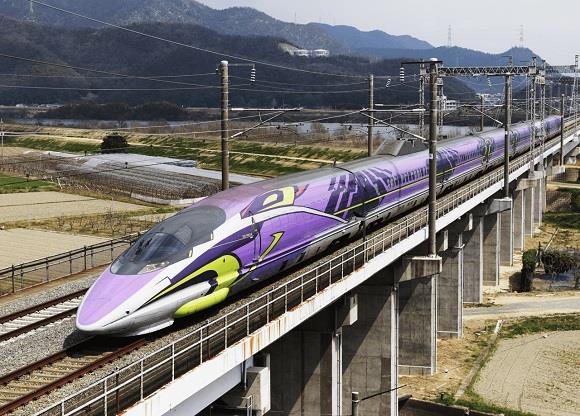 Il treno super veloce ispirato all'Eva