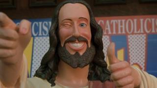 Il Cristo Compagnone dal film Dogma