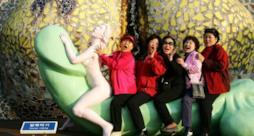 Un sexy parco a tema con peni giganti aprirà in Taiwan