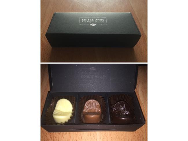 Il calco del tuo ano di cioccolato