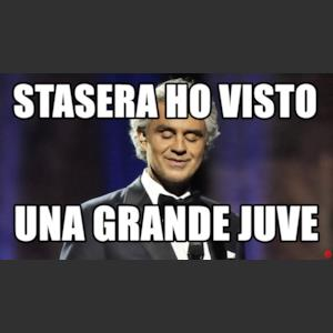 Stasera ho visto una grande Juve