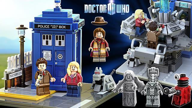 Il progetto vincitore per il set LEGO di Doctor Who