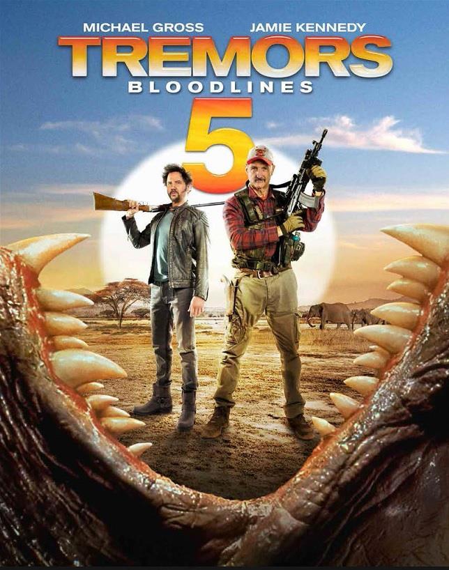 Il poster ufficiale di Tremors 5: Bloodlines