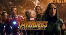 Alcuni personaggi di Avengers: Infinity War