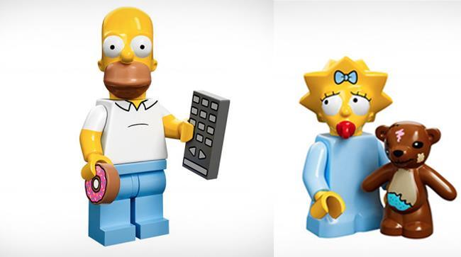 I Lego con le sembianze dei Simpson