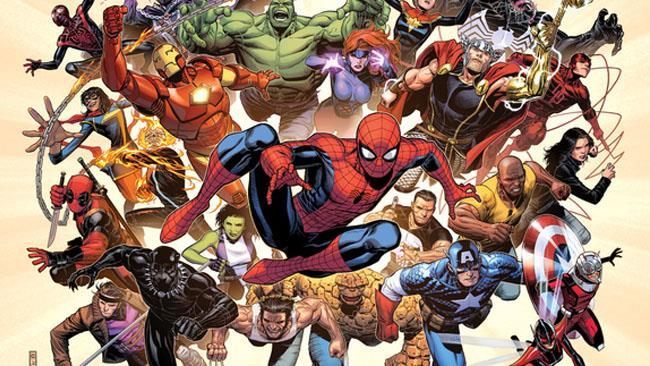 La foto della copertina di una serie a fumetti