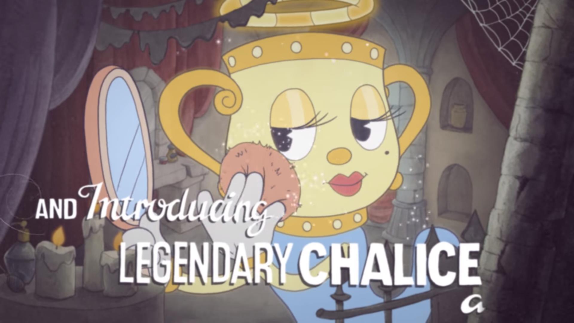 Ms Chalice di Cuphead