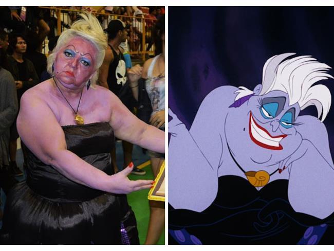 il costume di Ursula
