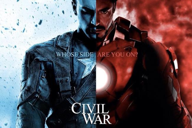 Capitan America. Civil War metterà gli eroi Marvel l'uno contro l'altro