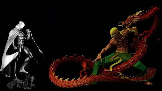 Iron Fist battuto da Moon Knight per Netflix?