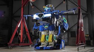 La foto del Transformer costruito in Giappone
