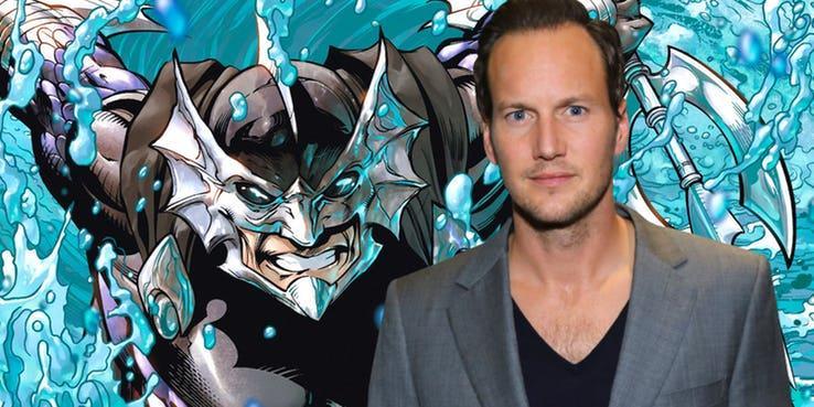L'attore Patrick Wilson interpreterà Orm, il fratellastro nonché villain di Aquaman