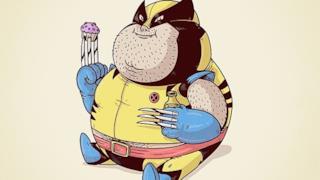 Wolverine in versione obesa