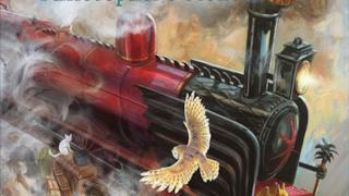Copertina dell'edizione illustrata di Harry Potter e la Pietra Filosofale