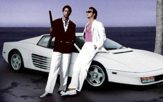 Miami Vice con Don Johnson e Philip Michael Thomas