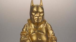 Supereroi in versione Buddha, tutti da venerare