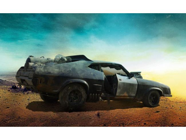 La mitica Interceptor di Mad Max: Fury Road