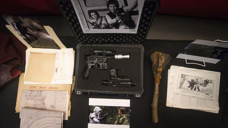 La pistola di Han Solo, interpretato da Harrison Ford
