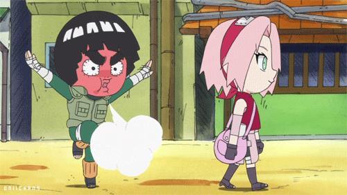 Rock Lee e Sakura