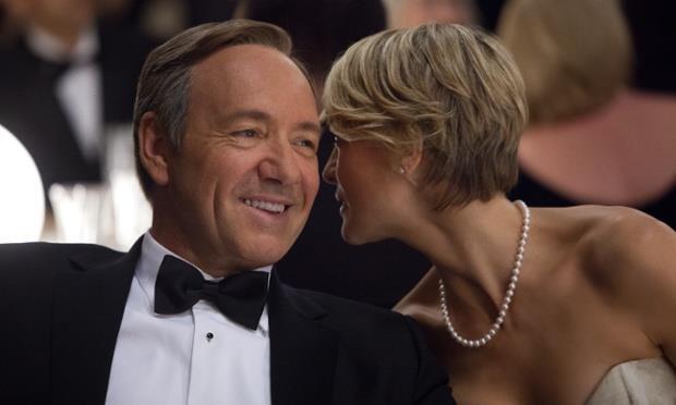 Frank Underwood e la moglie Claire