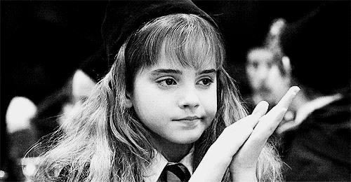 GIF Hermione che applaude