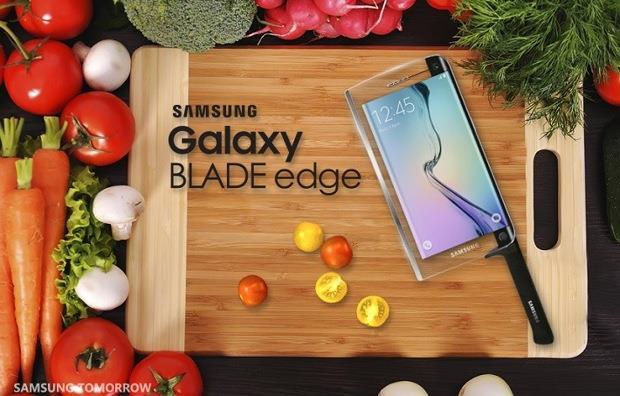 Samsung Galaxy Blade Edge Pesce d'Aprile
