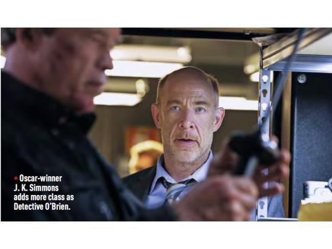 J.K. Simmons in Terminator: Genisys
