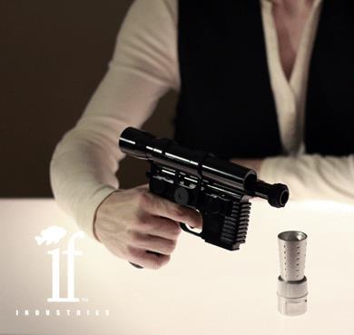 La fiaschetta per alcolici ispirata alla pistola di Han Solo