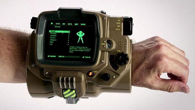 Il Pip-Boy funzionante di Fallout 4