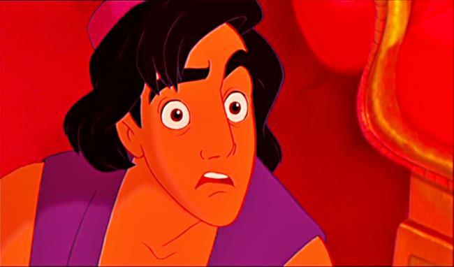 Aladdin è stupito da tutte queste teorie!