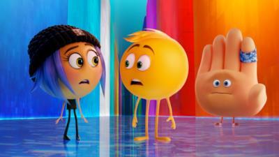 Una scena di Emoji: Accendi le emozioni