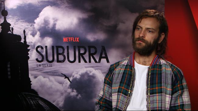 La foto di un attore dello show Netflix