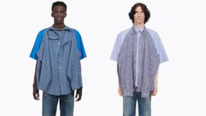 Camicia su camicia, il nuovo capo all'ultima moda di Balenciaga