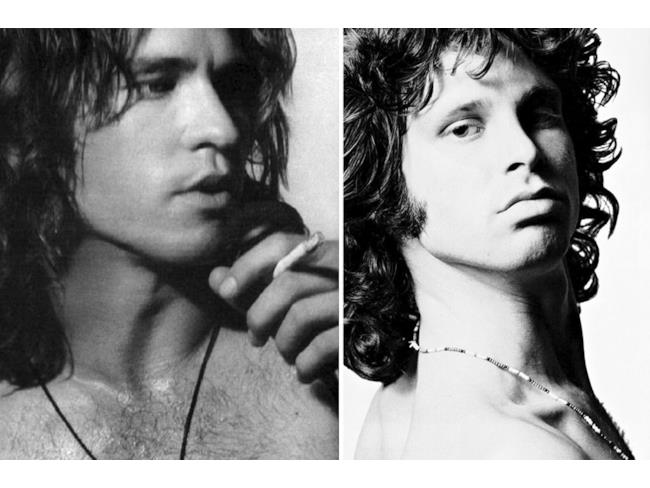 Val Kilmer nelle vesti di Jim Morrison
