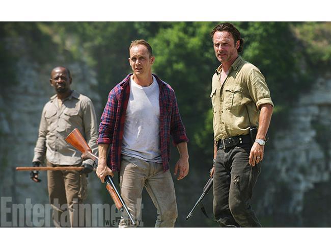 Carter nella sesta stagione di The Walking Dead