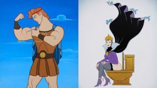 Personaggi Disney ossessionati da droga, botox e sesso