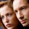 Gli attori David Duchovny e Gillian Anderson in X-Files